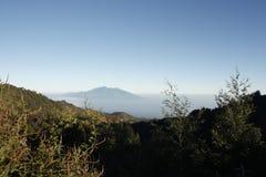 Panoramiczny Mt Bromo Wschodni Jawa Indonezja Obrazy Stock
