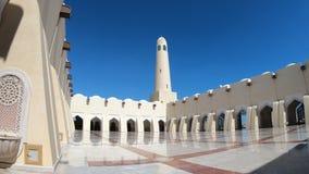 Panoramiczny podwórzowy Uroczysty meczet zbiory