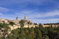 Panoramiczny Segovia widok Obrazy Royalty Free