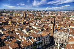 Panoramiczny Verona Widok - Włochy Fotografia Royalty Free