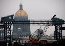 Panoramiczny widok święty Petersburg, Rosja obraz stock