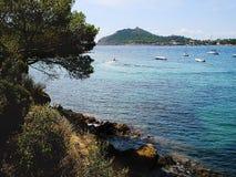 Panoramiczny widok Agay Obraz Royalty Free