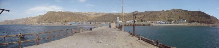Panoramiczny widok Cabo Blanco Zdjęcia Stock