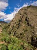 Panoramiczny widok Cerro murzyn fotografia stock