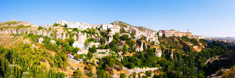 Panoramiczny widok Cuenca Fotografia Royalty Free