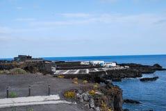 panoramiczny widok giovinazzo apulia, cyfrowy fotografia obrazek jako tło obraz stock