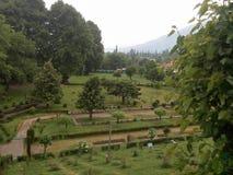 Panoramiczny widok Harwan ogród Fotografia Stock