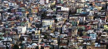 Panoramiczny widok Izmir miasto obraz royalty free