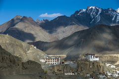 Panoramiczny widok Ladakh Zdjęcie Royalty Free