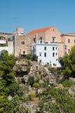 Panoramiczny widok Massafra Puglia Włochy Obraz Stock
