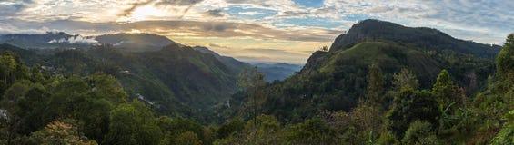 Panoramiczny widok na Ella Gap obrazy royalty free