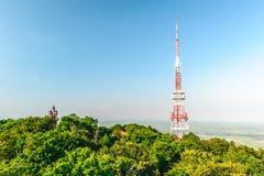 Panoramiczny widok od ÅšlęŠ¼ góra z góruje Obraz Royalty Free