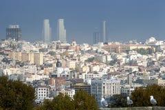 Panoramiczny widok od Galata wierza Złoty róg Obrazy Royalty Free