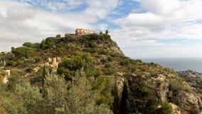 Panoramiczny widok od Hiszpania Zdjęcie Royalty Free
