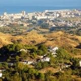 Panoramiczny widok od Mijas Obraz Royalty Free