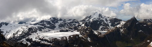 Panoramiczny widok od Munkan 3 Zdjęcie Royalty Free