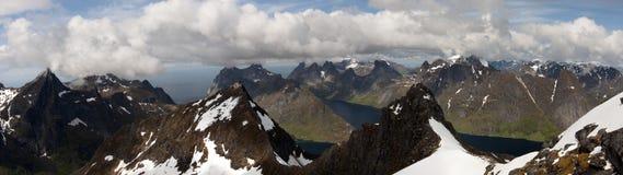 Panoramiczny widok od Munkan 6 Zdjęcie Stock