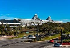 Panoramiczny widok Orlando Convention Center przy zawody międzynarodowi przejażdżki terenem obrazy royalty free