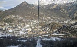 Panoramiczny widok Panticosa Hiszpania Zdjęcie Royalty Free