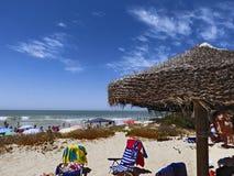 Panoramiczny widok plaża Zdjęcia Royalty Free