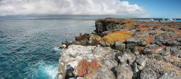 Panoramiczny widok Południowa plac wyspa fotografia royalty free