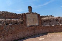 Panoramiczny widok ruiny w palatynu wzgórzu w mieście Rzym, Włochy Zdjęcia Royalty Free