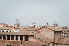 Panoramiczny widok Rzym, Lazio, Włochy Obrazy Stock