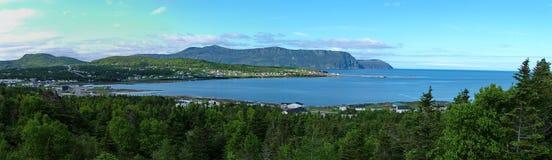 Panoramiczny widok Skalisty schronienie zdjęcie royalty free