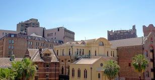 Panoramiczny widok stary Sydney blisko w centrum schronienia Obraz Royalty Free