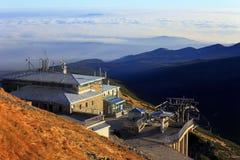 Panoramiczny widok Tatrzańskie góry w Lesser Polska Obrazy Royalty Free