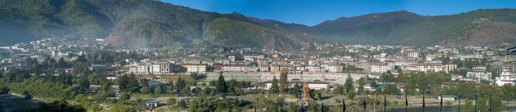 Panoramiczny widok Thimphu Obraz Stock