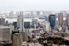 Panoramiczny widok Tokio Fotografia Stock