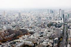 Panoramiczny widok Tokio Obraz Royalty Free