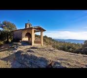 Panoramiczny widok wysoka góra Pyrenees zdjęcie stock