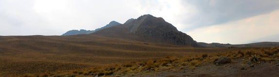 Panoramiczny wulkan fotografia royalty free