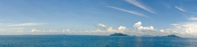 panoramiczny wyspa ocean Fotografia Royalty Free