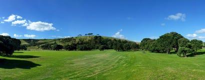 Panoramiczny wzgórze krajobraz zdjęcia stock