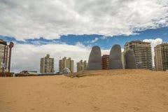 Panoramique à Punta del Este image libre de droits
