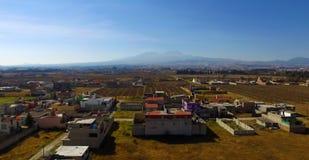 Panoramique rural photo stock