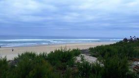 Panoramique strand Fotografering för Bildbyråer
