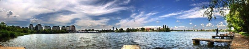 panoramisch Lizenzfreies Stockbild