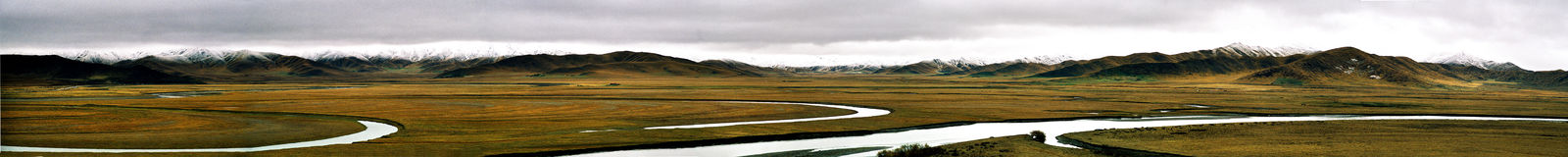 panoramisch royalty-vrije stock foto