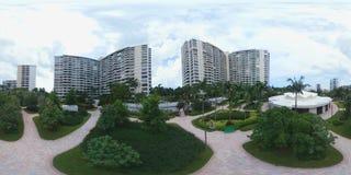 Panoramisch beeld van een tuin Stock Foto
