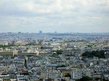 Panoramisch beeld van Parijs stock fotografie