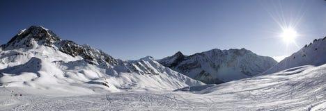 Panoramisch in Bogen Les. Frankrijk Stock Fotografie