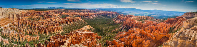 Panoramisch Bryce Canyon Stock Foto