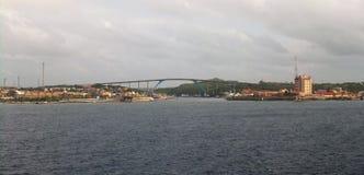 Panoramisch Curacao royalty-vrije stock afbeelding