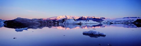 Panoramisch IJsland Stock Foto's