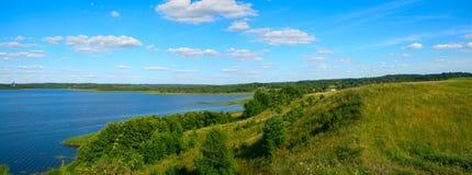 panoramisch landschap royalty-vrije stock foto's
