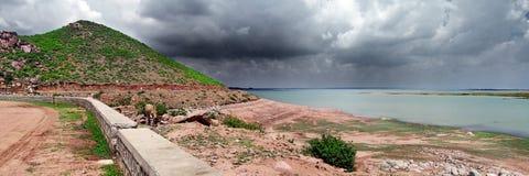Panoramisch landschap Royalty-vrije Stock Fotografie